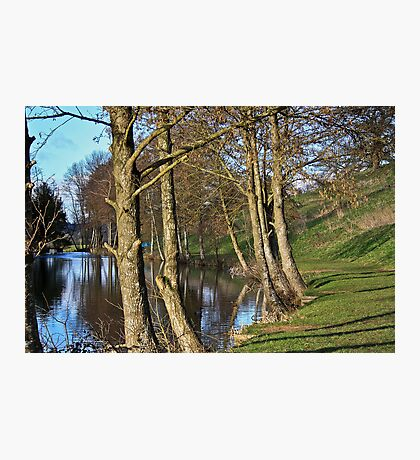 Newton Park Lake.. Photographic Print