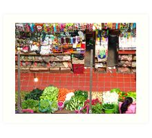 Market of Color Art Print
