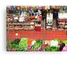 Market of Color Canvas Print