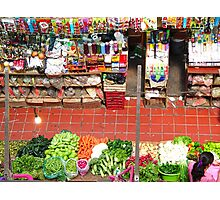 Market of Color Photographic Print