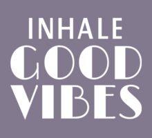 Inhale Good Vibes Kids Tee