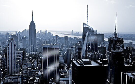 New York Skyline by Thomas Splietker