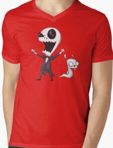 Invader Jack! Mens V-Neck T-Shirt