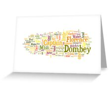 Dombey and Son Greeting Card