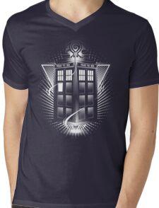T A R D I S  Mens V-Neck T-Shirt
