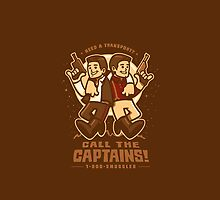 Call The Captains - IPHONE CASE by WinterArtwork