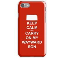 Keep Kansas..... No really, keep it. iPhone Case/Skin