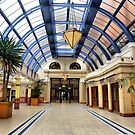 The Winter Gardens Foyer. by Lilian Marshall