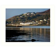 Fahan Village From Inch Art Print