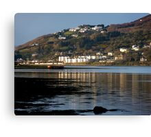 Fahan Village From Inch Canvas Print