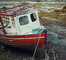 Ireland - The Abandoned Boat by Kaitlin Kelly
