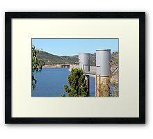 Wyangala Dam Wall Framed Print