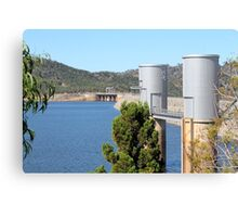 Wyangala Dam Wall Canvas Print