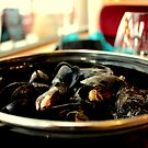 A Pot of Mussels   by rsangsterkelly