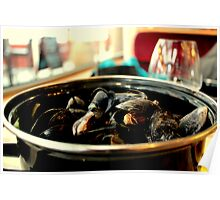 A Pot of Mussels   Poster