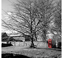 The Village Green at Cold Kirby Photographic Print