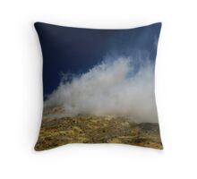 Sulphur Rising Throw Pillow