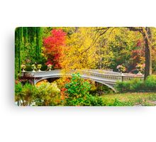 Autumn in Central Park, Study 1 Metal Print