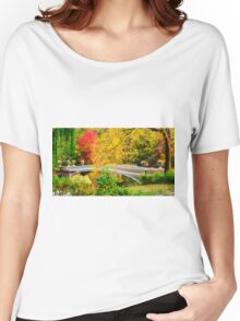 Autumn in Central Park, Study 1 Women's Relaxed Fit T-Shirt