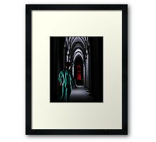 Clash of the Primary Colors Framed Print
