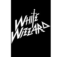 white wizzard band Photographic Print