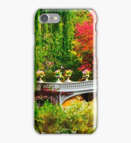 Autumn in Central Park, Study 1 iPhone Case/Skin