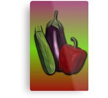 Vegetables 1 /  The Fruit Shop Metal Print