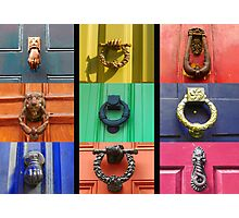 Doorknockers Photographic Print