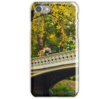 Autumn in Central Park, Study 2 iPhone Case/Skin