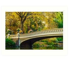Autumn in Central Park, Study 2 Art Print