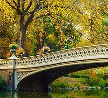 Autumn in Central Park, Study 2 by Randy  LeMoine