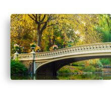Autumn in Central Park, Study 2 Metal Print