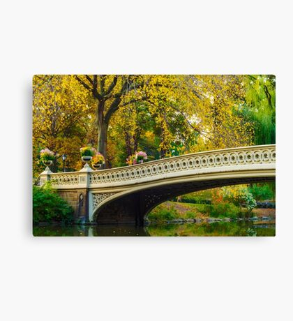 Autumn in Central Park, Study 2 Canvas Print