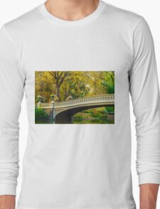 Autumn in Central Park, Study 2 Long Sleeve T-Shirt