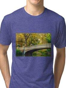 Autumn in Central Park, Study 2 Tri-blend T-Shirt