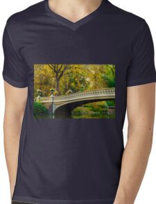 Autumn in Central Park, Study 2 Mens V-Neck T-Shirt