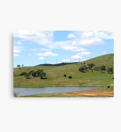 Blayney Wind Farm Canvas Print