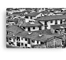 Roofs - Techos Canvas Print