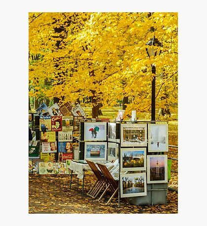 Autumn in Central Park, Study 3 Photographic Print