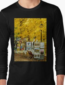 Autumn in Central Park, Study 3 Long Sleeve T-Shirt