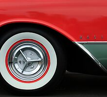 1956 Oldsmobile 98 Holiday Wheel by Jill Reger