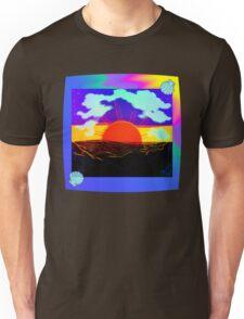 Vaporwave-Nostalgia Ocean Unisex T-Shirt