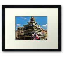 Uptown Jewelers Framed Print