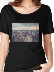 Clearing Storm from Top of the Rock Women's Relaxed Fit T-Shirt