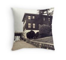 An old mansion,Istanbul Throw Pillow