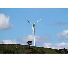 Wind Turbine at Blayney Wind Farm Photographic Print