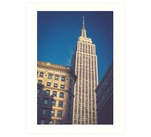 Under the Empire State Building Art Print