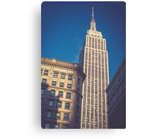 Under the Empire State Building Canvas Print