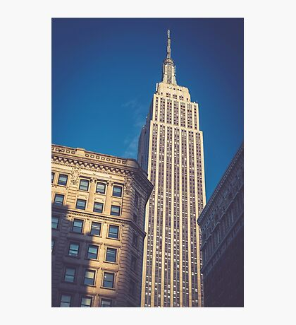 Under the Empire State Building Photographic Print