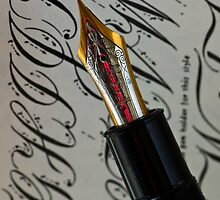 Calligraphy 101 by PhotoKismet